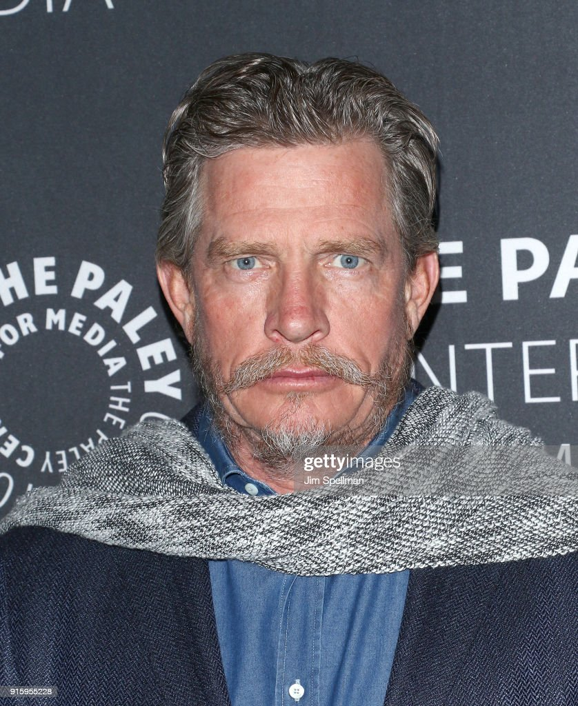 Actor Thomas Haden Church attends an evening with the cast of 'Divorce' at The Paley Center for Media on February 8, 2018 in New York City.