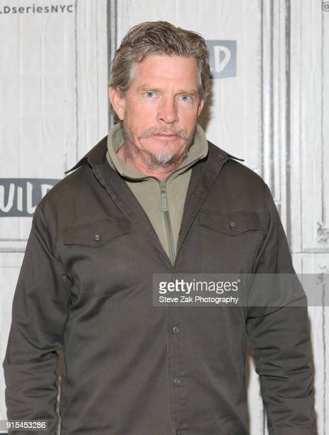 Actor Thomas Haden Church attends Build Series to discuss 'Divorce' at Build Studio on February 7 2018 in New York City
