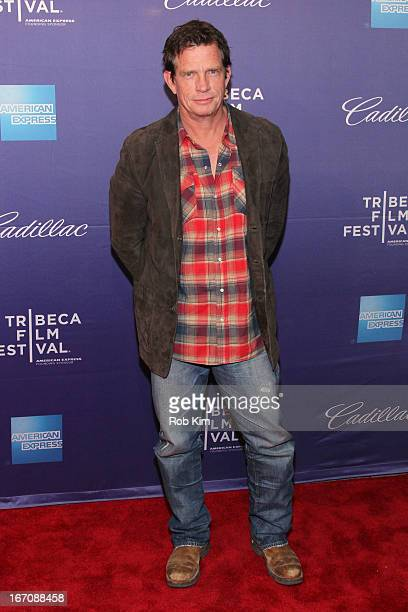 Actor Thomas Haden Church attends the 'Whitewash' World Premiere during the 2013 Tribeca Film Festival on April 19 2013 in New York City