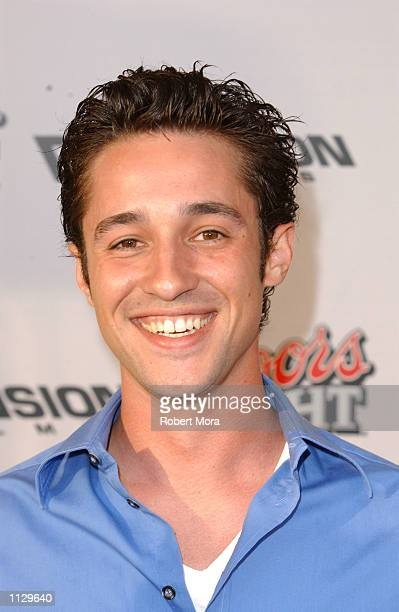Actor Thomas Ian Nicholas attends the premiere of Halloween Resurrection at the Mann Festival Theater on July 1 2002 in Westwood California The film...