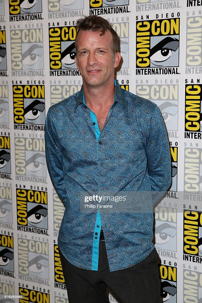 Actor Thomas Jane attends 'The Expanse' press line during Comic-Con International 2016 on July 23, 2016 in San Diego, California.