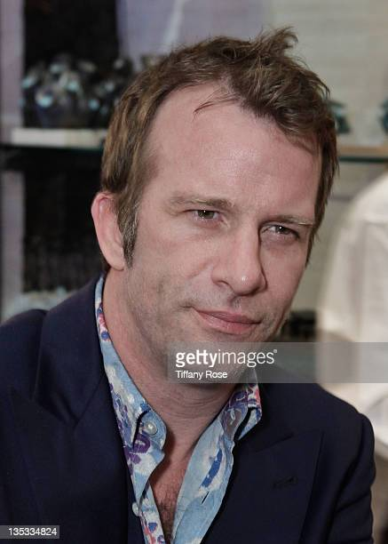 Actor Thomas Jane attends the Opal Stone Luxury Handbags And Fine Jewelry Launch at Gray Gallery on December 8 2011 in Beverly Hills California