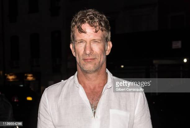 Actor Thomas Jane is seen arriving to the 'Crown Vic' screening at the 2019 Tribeca Film Festival at SVA Theater on April 26 2019 in New York City