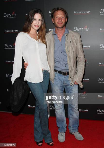 Actor Thomas Kretschmann attends the Bernie Los Angeles premiere at the ArcLight Cinemas on April 18 2012 in Hollywood California