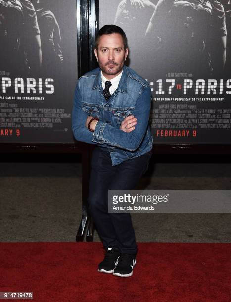 Actor Thomas Lennon arrives at the premiere of Warner Bros Pictures' The 1517 To Paris at Warner Bros Studios on February 5 2018 in Burbank California