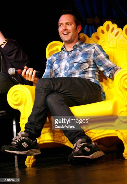 Actor Thomas Lennon speaks at the 2011 SXSW Music Film Interactive Festival Comedy DeathRay Radio With Scott Aukerman Live Podcast Taping at Esther's...