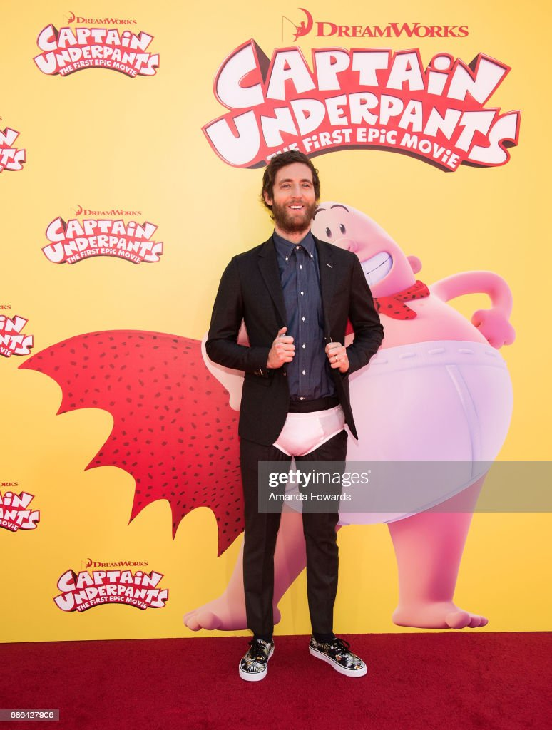 Actor Thomas Middleditch arrives at the premiere of 20th Century Fox's 'Captain Underpants: The First Epic Movie' at the Regency Village Theatre on May 21, 2017 in Westwood, California.