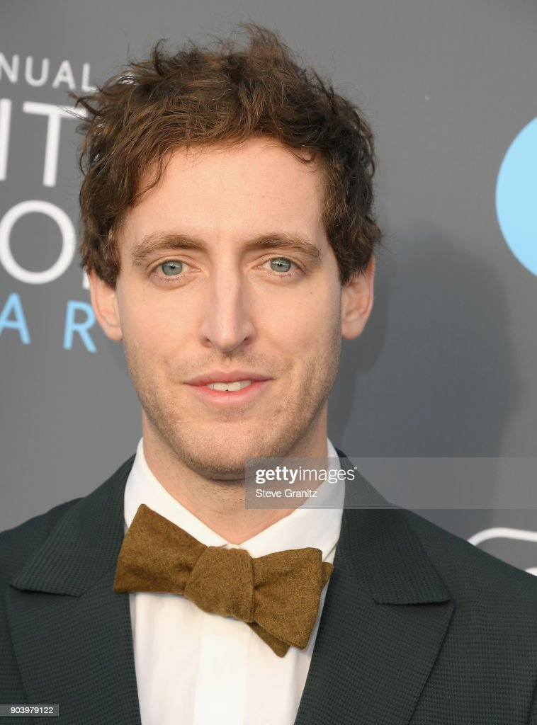 Actor Thomas Middleditch attends The 23rd Annual Critics' Choice Awards at Barker Hangar on January 11, 2018 in Santa Monica, California.
