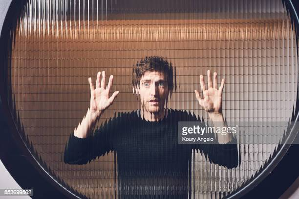 Actor Thomas Middleditch is photographed for Flood Magazine on February 15 2017 in Los Angeles California COVER IMAGE