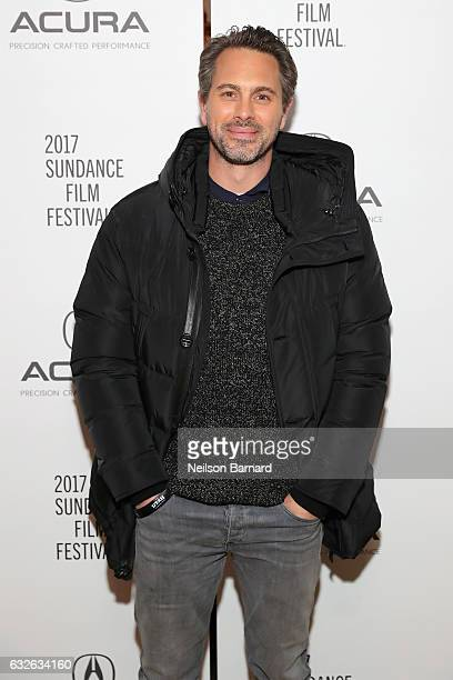 Actor Thomas Sadoski attends The Last Word Party at the Acura Studio at Sundance Film Festival 2017 on January 24 2017 in Park City Utah