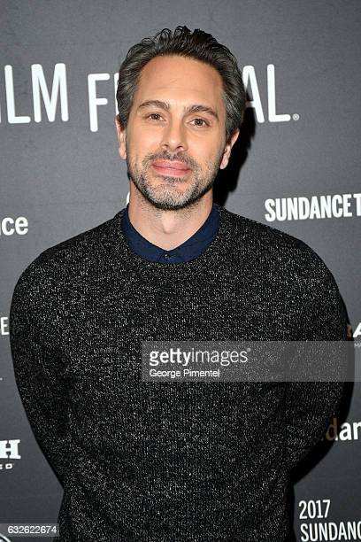 Actor Thomas Sadoski attends The Last Word Premiere at Eccles Center Theatre on January 24 2017 in Park City Utah