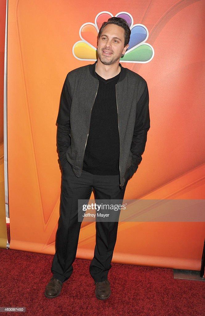 Actor Thomas Sadoski attends the NBCUniversal 2015 Press Tour at the Langham Huntington Hotel on January 16, 2015 in Pasadena, California.
