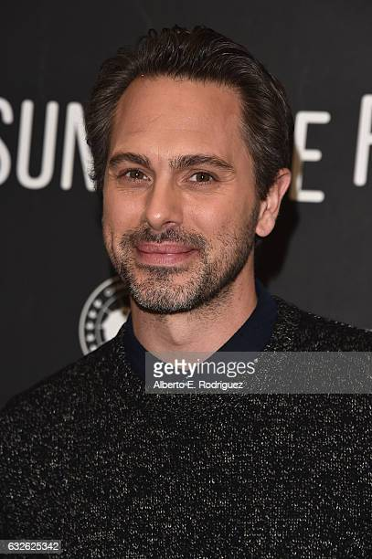 Actor Thomas Sadoski ttends the The Last Word Premiere at Eccles Center Theatre on January 24 2017 in Park City Utah