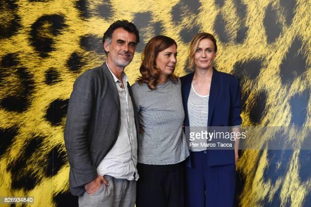 Actor Thomas Trabacchi Director Francesca Comencini and Actress Lucia Mascino attend 'Amori che non sanno stare al mondo' photocall during the 70th...
