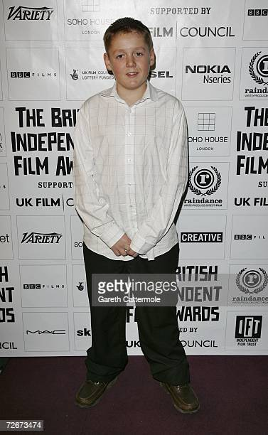 Actor Thomas Turgoose attends The British Independent Film Awards at the Hammersmith Palais on November 29 2006 in London England