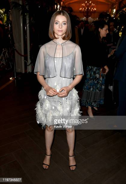 Actor Thomasin McKenzie attends the 20th Annual AFI Awards at Four Seasons Hotel Los Angeles at Beverly Hills on January 03, 2020 in Los Angeles,...