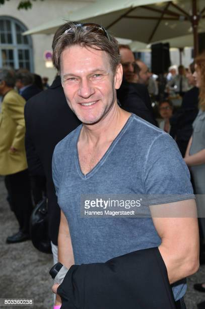 Actor Thure Riefenstein attends the FFF reception during the Munich Film Festival 2017 at Praterinsel on June 29 2017 in Munich Germany