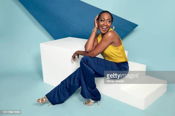 Actor Tichina Arnold of CBS's 'The Neighborhood' poses for a portrait during the 2018 Summer Television Critics Association Press Tour at The Beverly...