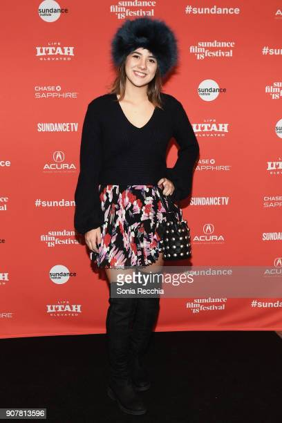 Actor Tifanny Dopke attends the Rust Premiere during the 2018 Sundance Film Festival at Prospector Square on January 20 2018 in Park City Utah