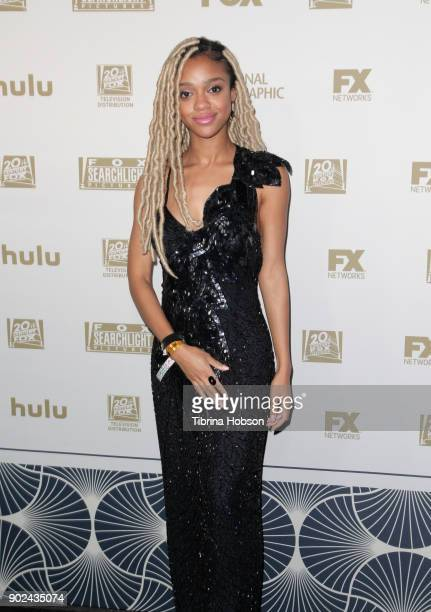 Actor Tiffany Boone attends FOX FX and Hulu 2018 Golden Globe Awards After Party at The Beverly Hilton Hotel on January 7 2018 in Beverly Hills...