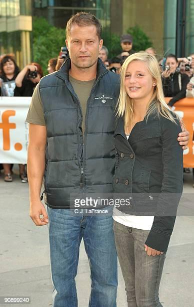 Actor Til Schweiger and actress Luna Schweiger arrive at the Phantom Pain screening during the 2009 Toronto International Film Festival held at Roy...
