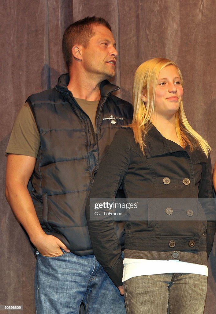 Actor Til Schweiger And Actress Luna Schweiger Onstage At