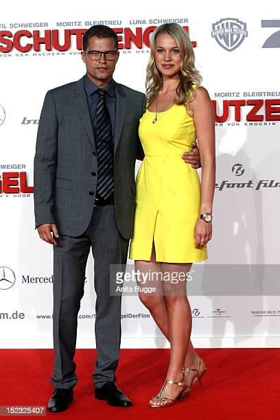 Actor Til Schweiger and Svenja Holtmann attend the Schutzengel Premiere at CineStar on September 18 2012 in Berlin Germany