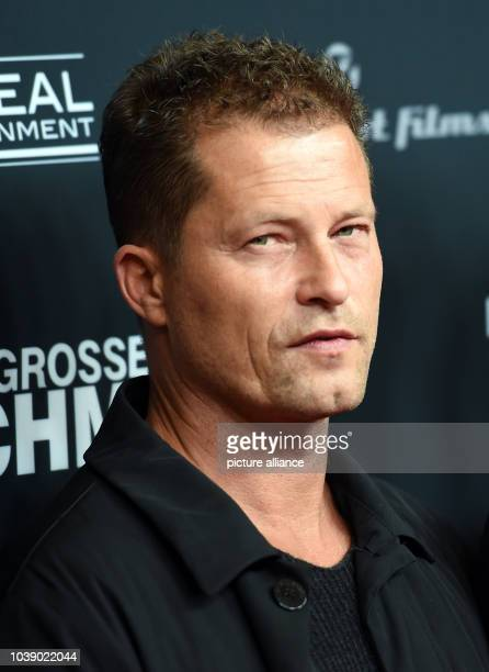 Actor Til Schwieger arrives to the premiere of the film 'Der grosse Schmerz' from the TV seried 'Tatort' in Berlin Germany 16 December 2015...