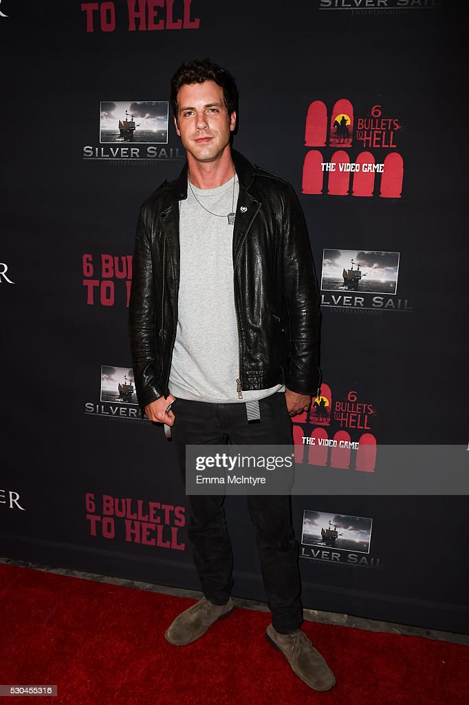 Actor Tilky Jones attends the launch of '6 Bullets to Hell' on May 10, 2016 in Los Angeles, California.
