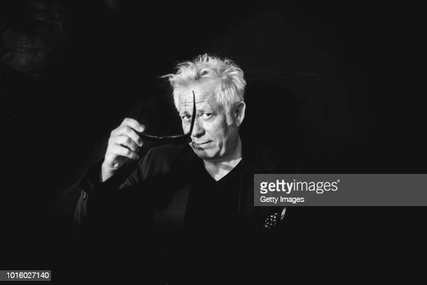 Actor Tilo Nest poses at the 'Alles ist gut' photocall during the 71st Locarno Film Festival on August 8 2018 in Locarno Switzerland