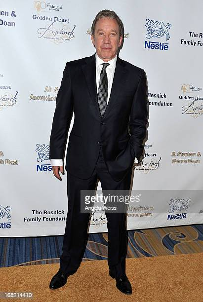 Actor Tim Allen arrives at the Midnight Mission Golden Heart Awards 2013 at the Beverly Wilshire Four Seasons Hotel on May 6, 2013 in Beverly Hills,...