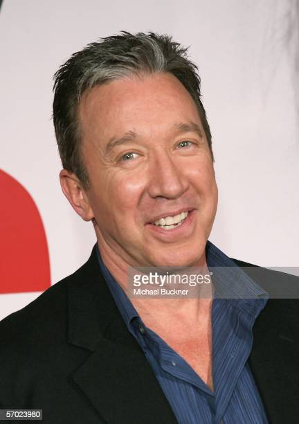Actor Tim Allen arrives at the premiere of Walt Disney Pictures' The Shaggy Dog at the El Capitan Theatre on March 7 2006 in Los Angeles California