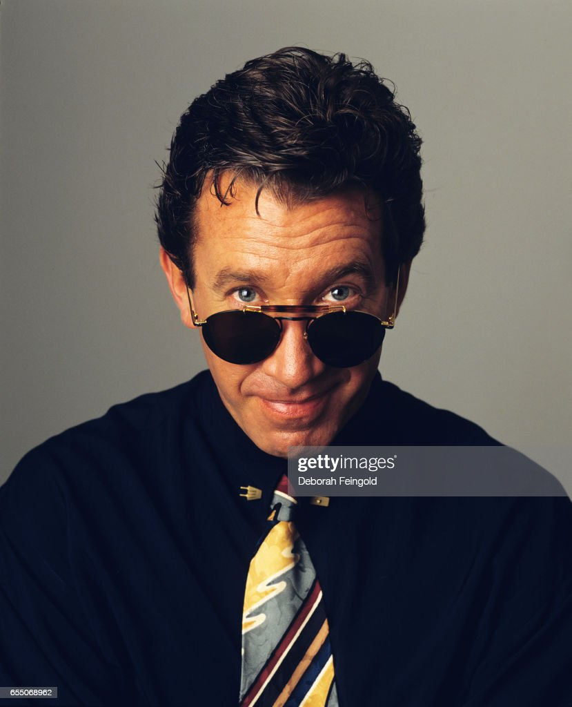 Actor Tim Allen poses in May 1994 in Los Angeles, California.