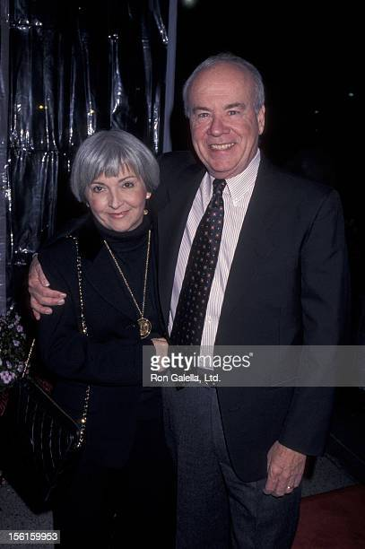 Actor Tim Conway and Charlene Fusco attending the screening of 'Dear God' on October 29 1996 at the Paramount Theater in Hollywood California