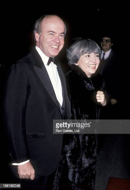 Actor Tim Conway and wife Charlene Fusco attend 'Variety Club Tribute Honoring Ronald Reagan' on December 1 1985 at NBC TV Studios in Burbank...