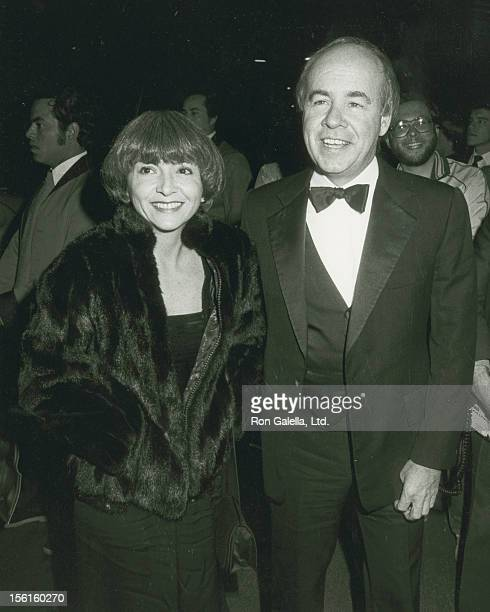 Actor Tim Conway and wife Charlene Fusco attending the taping of 'AllStar Party for Frank Sinatra' on November 20 1983 at NBC TV Studios in Burbank...