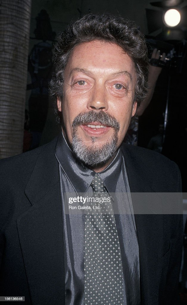 Actor Tim Curry attending the world premiere of 'This Is Spinal Tap' on September 5, 2000 at the Egyptian Theater in Hollywood, California.