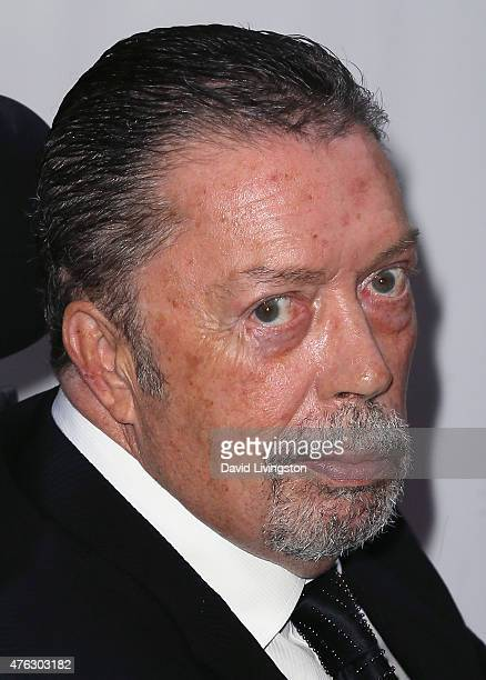 Actor Tim Curry attends the Actors Fund's 19th Annual Tony Awards Viewing Party at the Skirball Cultural Center on June 7 2015 in Los Angeles...