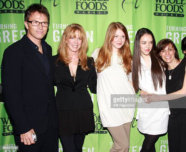 Actor Tim Daly Actress Amy Van Nostrand Emelyn Daly Teens for Safe Cosmetics Lead Spokesperson Erin Schrode and Judi Shils arrive at the Teens...