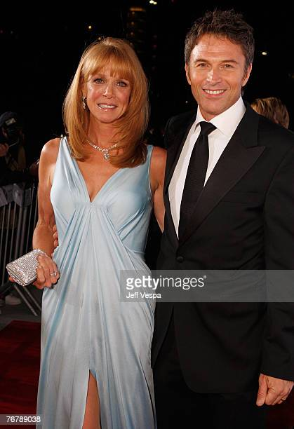 Actor Tim Daly and wife Amy Van Nostrand arrive at 11th Annual Entertainment Tonight Party Sponsored By People September 16 2007 in Los Angeles
