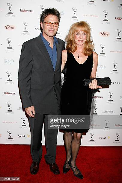 Actor Tim Daly and wife Amy Van Nostrand arrive at the 59th Primetime Emmy Awards Nominees Reception at Wolfgang Puck at the Pacific Design Center on...