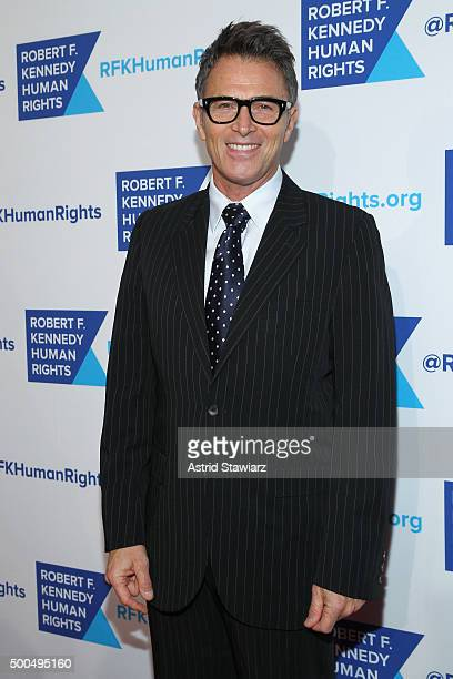 Actor Tim Daly attends as Robert F Kennedy Human Rights hosts The 2015 Ripple Of Hope Awards honoring Congressman John Lewis Apple CEO Tim Cook...