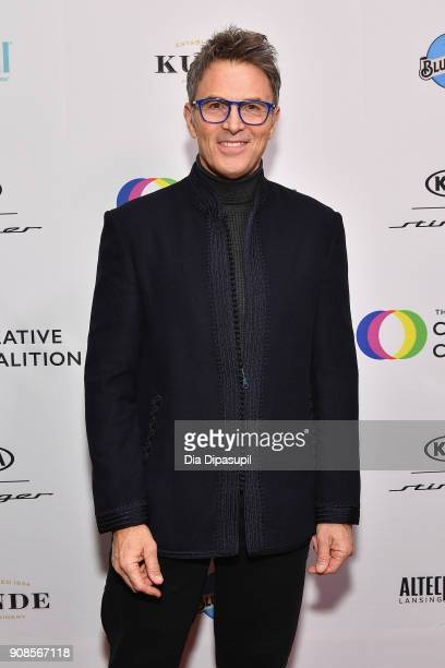 Actor Tim Daly attends the 2018 Spotlight Initiative Awards Gala Dinner at Kia Supper Suite on January 21 2018 in Park City Utah