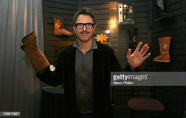 Actor Tim Daly attends the Access Hollywood Stuff You Must Lounge produced by On 3 Productions celebrating the Golden Globes held at Sofitel LA on...
