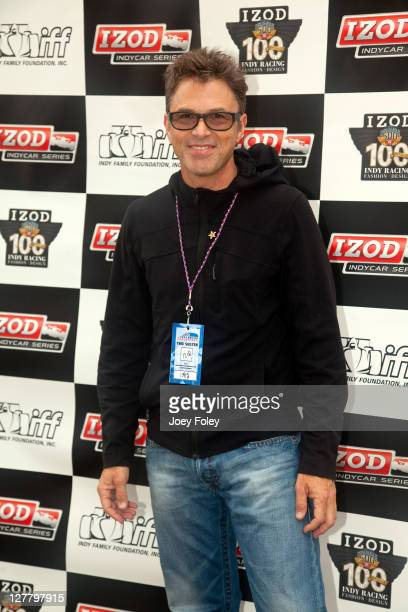 Actor Tim Daly attends the celebrity golf tournament during the 100th Anniversary Indianapolis 500 at Indianapolis Motor Speedway on May 28 2011 in...