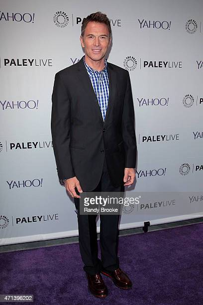 Actor Tim Daly attends The Paley Center for Media presents an evening with 'Madame Secretary' at Paley Center For Media on April 27 2015 in New York...