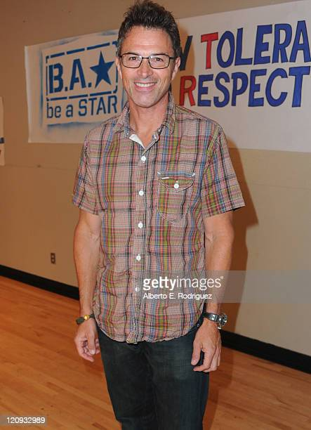 Actor Tim Daly attends the WWE and The Creative Coallition's Rally to support the 'be a star' AntiBullying Alliance on August 12 2011 in Los Angeles...