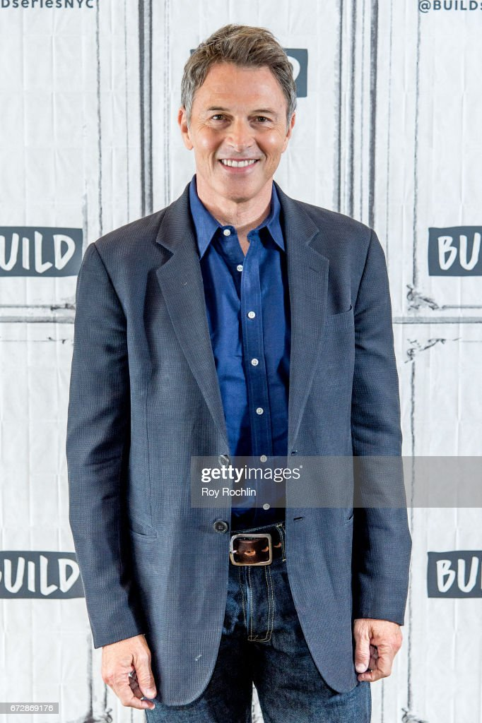 Actor Tim Daly discusses the Creative Coalition with the Build Series at Build Studio on April 25, 2017 in New York City.
