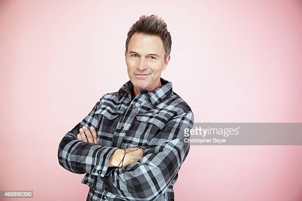 Actor Tim Daly is photographed for Entertainment Weekly Magazine on January 25 2014 in Park City Utah
