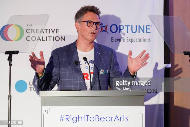 Actor Tim Daly speaks at The Creative Coalition's 2019 #RightToBearArts Gala Presented By Optune on May 09 2019 in Washington DC
